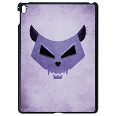 Purple Evil Cat Skull Apple Ipad Pro 9 7   Black Seamless Case by CreaturesStore
