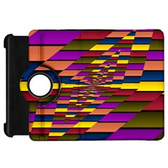 Autumn Check Kindle Fire Hd 7  by designworld65