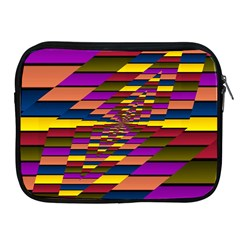 Autumn Check Apple Ipad 2/3/4 Zipper Cases by designworld65
