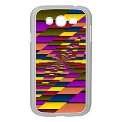 Autumn Check Samsung Galaxy Grand Duos I9082 Case (white) by designworld65