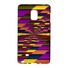 Autumn Check Galaxy Note Edge by designworld65