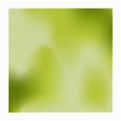 Green Soft Springtime Gradient Medium Glasses Cloth by designworld65