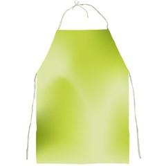 Green Soft Springtime Gradient Full Print Aprons by designworld65