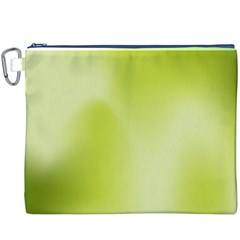 Green Soft Springtime Gradient Canvas Cosmetic Bag (xxxl) by designworld65