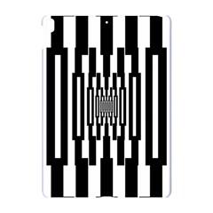 Black Stripes Endless Window Apple Ipad Pro 10 5   Hardshell Case by designworld65