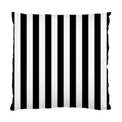 Black And White Stripes Standard Cushion Case (two Sides) by designworld65