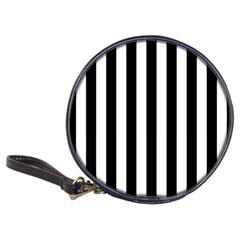 Black And White Stripes Classic 20 Cd Wallets by designworld65
