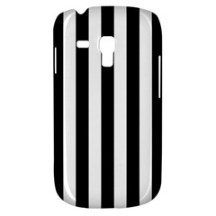 Black And White Stripes Galaxy S3 Mini by designworld65