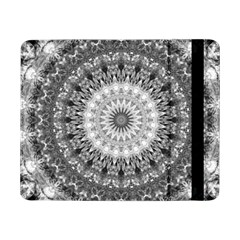 Feeling Softly Black White Mandala Samsung Galaxy Tab Pro 8 4  Flip Case by designworld65
