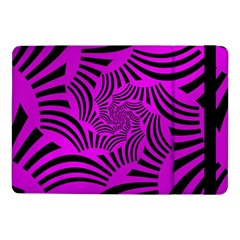 Black Spral Stripes Pink Samsung Galaxy Tab Pro 10 1  Flip Case by designworld65