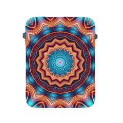 Blue Feather Mandala Apple Ipad 2/3/4 Protective Soft Cases by designworld65