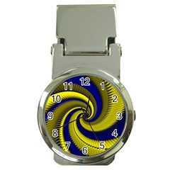 Blue Gold Dragon Spiral Money Clip Watches by designworld65