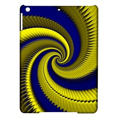 Blue Gold Dragon Spiral Ipad Air Hardshell Cases by designworld65
