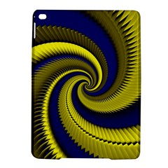 Blue Gold Dragon Spiral Ipad Air 2 Hardshell Cases by designworld65