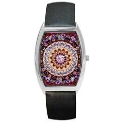 Dreamy Mandala Barrel Style Metal Watch by designworld65