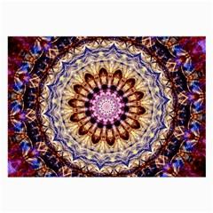 Dreamy Mandala Large Glasses Cloth (2 Side) by designworld65