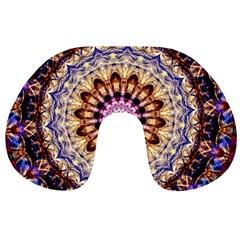 Dreamy Mandala Travel Neck Pillows by designworld65
