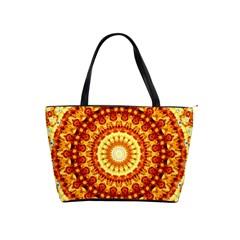 Powerful Love Mandala Shoulder Handbags by designworld65