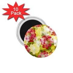 Flower Power 1 75  Magnets (10 Pack)  by designworld65