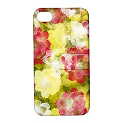 Flower Power Apple Iphone 4/4s Hardshell Case With Stand by designworld65