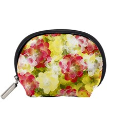 Flower Power Accessory Pouches (small)  by designworld65