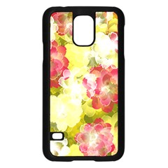 Flower Power Samsung Galaxy S5 Case (black) by designworld65