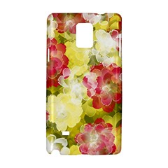 Flower Power Samsung Galaxy Note 4 Hardshell Case by designworld65