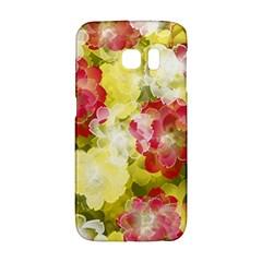 Flower Power Galaxy S6 Edge by designworld65