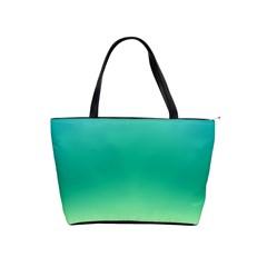 Sealife Green Gradient Shoulder Handbags by designworld65