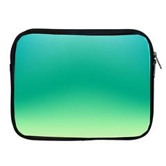 Sealife Green Gradient Apple Ipad 2/3/4 Zipper Cases by designworld65