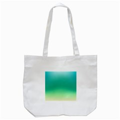 Sealife Green Gradient Tote Bag (white) by designworld65