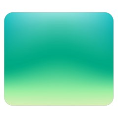 Sealife Green Gradient Double Sided Flano Blanket (small)  by designworld65