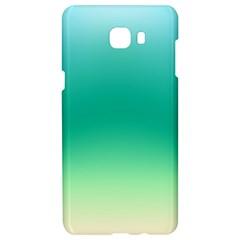 Sealife Green Gradient Samsung C9 Pro Hardshell Case  by designworld65