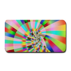 Irritation Funny Crazy Stripes Spiral Medium Bar Mats by designworld65