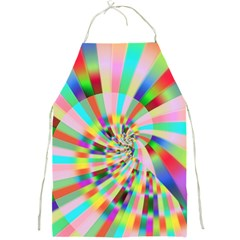 Irritation Funny Crazy Stripes Spiral Full Print Aprons by designworld65