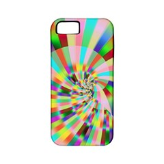 Irritation Funny Crazy Stripes Spiral Apple Iphone 5 Classic Hardshell Case (pc+silicone) by designworld65