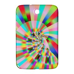 Irritation Funny Crazy Stripes Spiral Samsung Galaxy Note 8 0 N5100 Hardshell Case  by designworld65