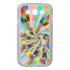Irritation Funny Crazy Stripes Spiral Samsung Galaxy Grand Duos I9082 Case (white) by designworld65