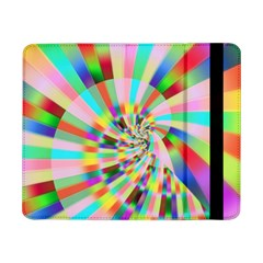 Irritation Funny Crazy Stripes Spiral Samsung Galaxy Tab Pro 8 4  Flip Case by designworld65