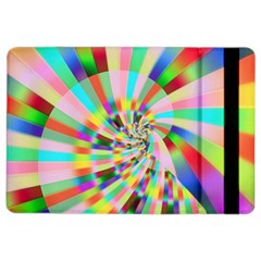 Irritation Funny Crazy Stripes Spiral Ipad Air 2 Flip by designworld65