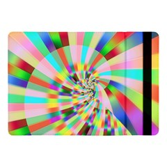 Irritation Funny Crazy Stripes Spiral Apple Ipad Pro 10 5   Flip Case by designworld65