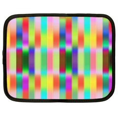 Multicolored Irritation Stripes Netbook Case (xxl)  by designworld65