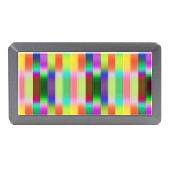 Multicolored Irritation Stripes Memory Card Reader (mini) by designworld65