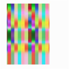 Multicolored Irritation Stripes Large Garden Flag (two Sides) by designworld65