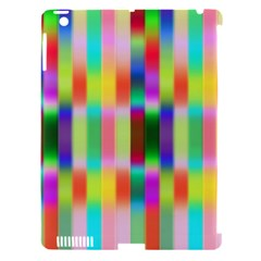 Multicolored Irritation Stripes Apple Ipad 3/4 Hardshell Case (compatible With Smart Cover) by designworld65