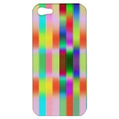 Multicolored Irritation Stripes Apple Iphone 5 Hardshell Case by designworld65