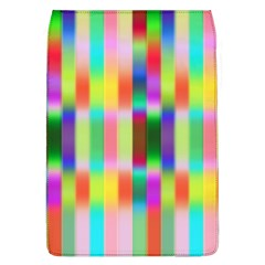 Multicolored Irritation Stripes Flap Covers (l)  by designworld65