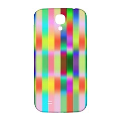 Multicolored Irritation Stripes Samsung Galaxy S4 I9500/i9505  Hardshell Back Case by designworld65