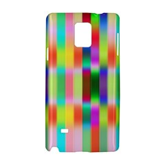 Multicolored Irritation Stripes Samsung Galaxy Note 4 Hardshell Case by designworld65
