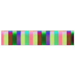 Multicolored Irritation Stripes Flano Scarf (small) by designworld65